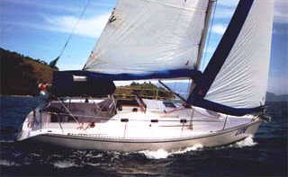 Delta 32 sail boat